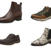 Chollos en tallas sueltas de botas y zapatos de marcas como Skechers, Geox o Clarcks a la venta en Amazon