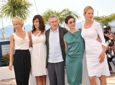 El jurado y las celebrities del festival de Cannes dan en el blanco