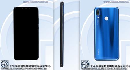 Huawei Nova 3: sus cuatro cámaras filtradas en TENAA