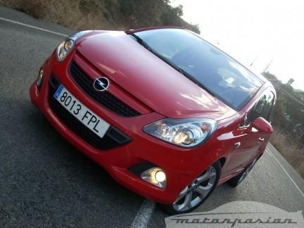 Prueba: Opel Corsa OPC (parte 1)