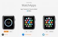 Esta web nos permitirá conocer parte del funcionamiento de las apps del Apple Watch