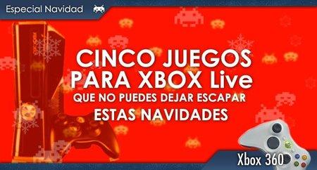 Cinco videojuegos para XBLA que no puedes dejar escapar estas navidades