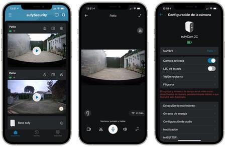 Captura App Eufy