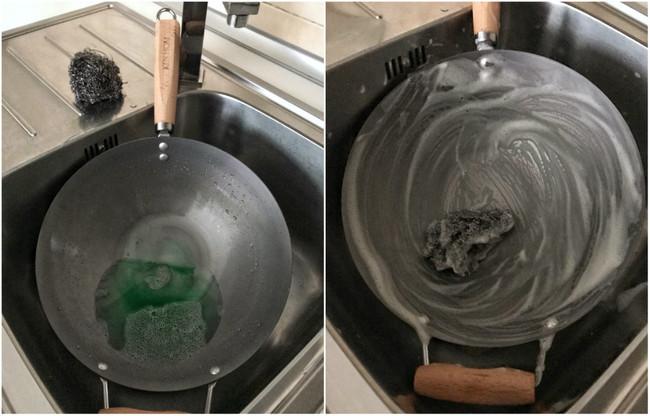 Paso 2. Frotar el interior con estropajo y detergente