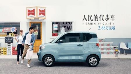 Wuling Hongguang Mini Ev Electrico Mas Vendido 1