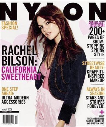 Rachel Bilson portada de Nylon