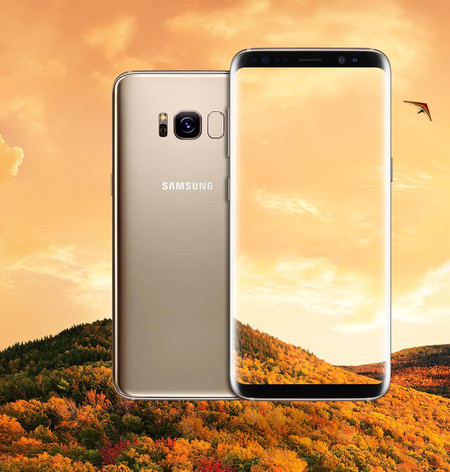 Samsung Galaxy S8 In Gold