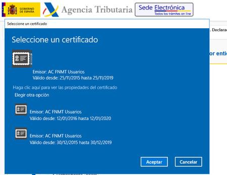 Finalmente la Agencia Tributaria cambiará sus certificados de la Sede Electrónica
