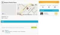 Más rediseños: Foursquare mejora las páginas de sus localizaciones