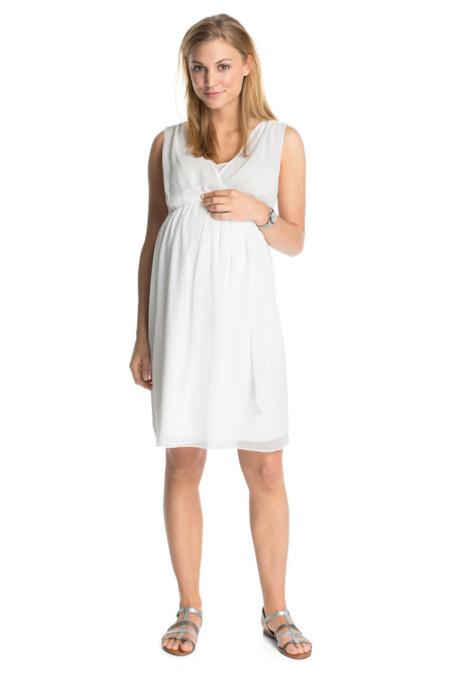 ESprit Vestido Blanco Premama