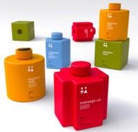 ¿Y si todos esos frascos que hay en tu baño fuesen como piezas de LEGO?