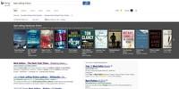 Bing facilita la búsqueda de libros con su nuevo carrusel de libros más vendidos