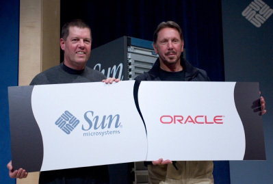Oracle compra Sun