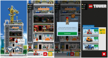 Lego Tower Capturas