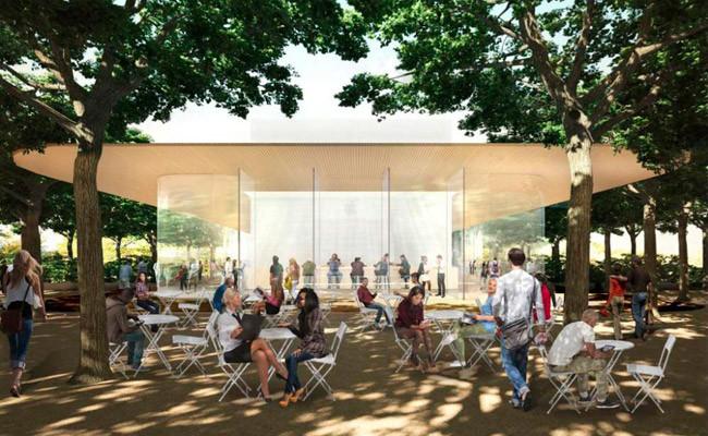 Apple Campus 2 Visitor Center