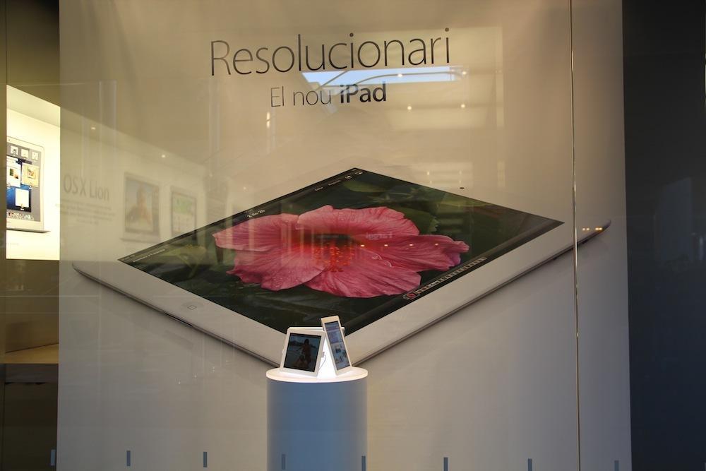 Foto de Lanzamiento del iPad de tercera generación en Barcelona (5/10)