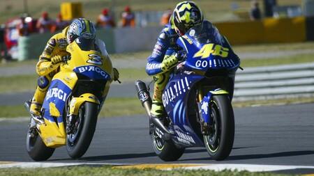 Rossi Sudafrica Motogp 2004