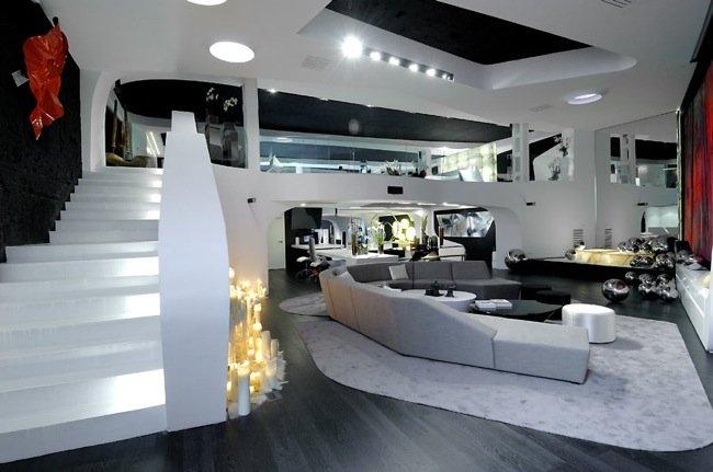 La nueva tienda de a cero en madrid a cero in for Diseno de escaleras interiores minimalistas