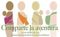 """""""Comparte la aventura"""": Semana Mundial de la Crianza en Brazos 2014"""