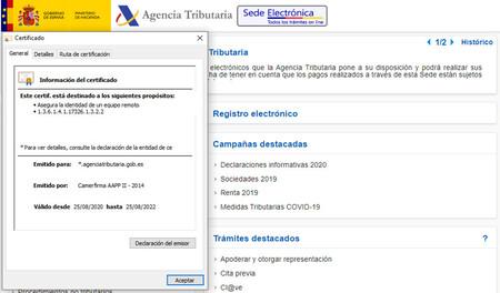 La web de Hacienda puede dejar de funcionar en Google Chrome en plena campaña de RENTA