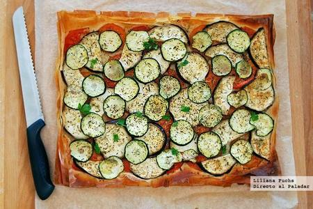 650 1000 Pastel Filo Verduras