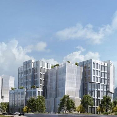 Arquitectura: Dos edificios con forma de iceberg diseñados por Frank Gehry, nuevas oficinas de la Warner Bros