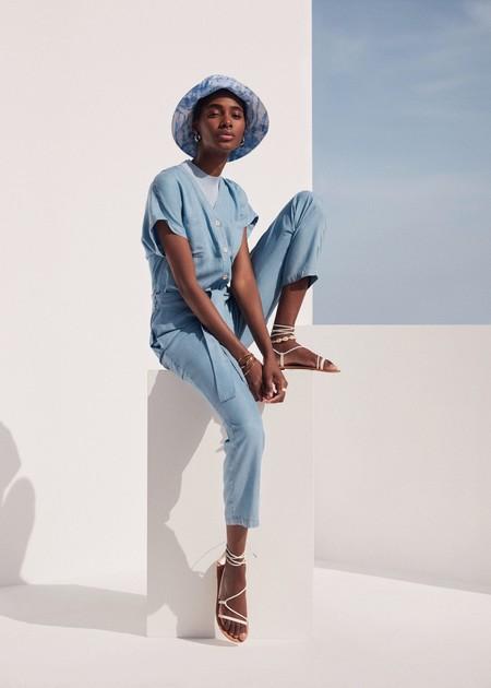 Mango Azul Cielo Pantalon 02