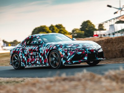 El nuevo Toyota Supra también tendrá motor cuatro cilindros