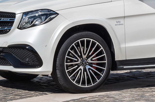 El Mercedes-Maybach GLS Concept se suma a la batalla de los SUV de lujo con el V8 del AMG GT