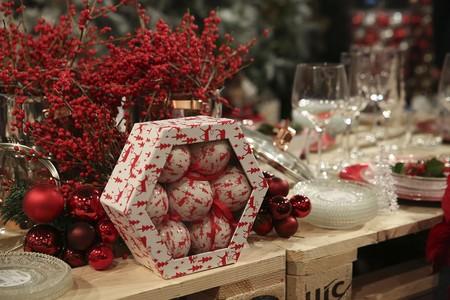 Decoración de Navidad de Carrefour