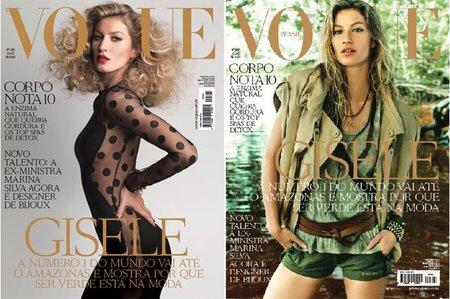 Gisele Bundchen multiplicada por cuatro para Vogue Brazil