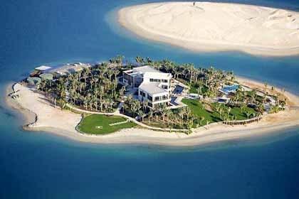 La isla privada de Michael Schumacher en The World, Dubai