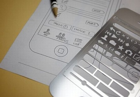 iPhone Stencil Kit, para diseñadores de aplicaciones