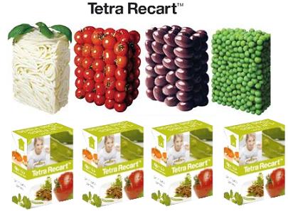 Tetra Pak fabrica envases para alimentos sólidos, Tetra Recart