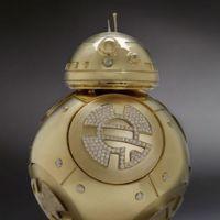 El BB-8 droid en oro y diamantes: para fans de Star Wars de lujo