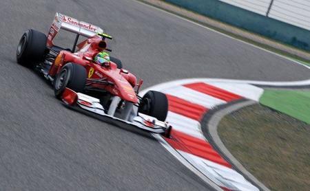 Felipe Massa probó un Ferrari bastante mejorado en Vairano