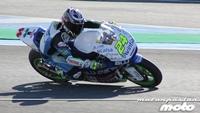 Jonas Folger y Toni Elías comienzan mandando en un soleado día de test en Jerez