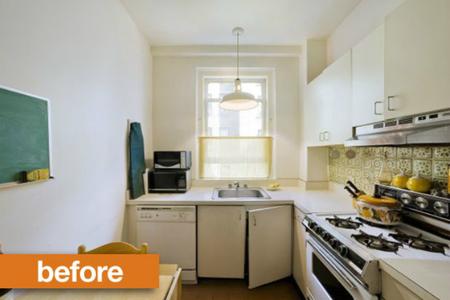 Antes y después: una cocina pequeña llena de grandes ideas