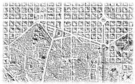 Plano de una ciudad