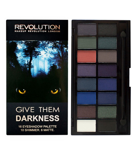Makeup Revolution Paleta De Sombras De Ojos Give Them Darkness