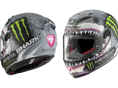 "A 749,99 euros la dentellada, así es el Shark Race-R Pro Replica ""White Shark"" réplica Jorge Lorenzo"