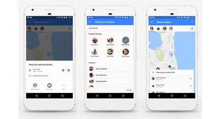 Maps Compartir Ubicación