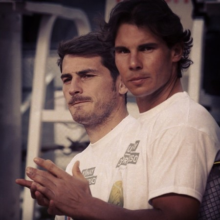 Casillas y Nadal
