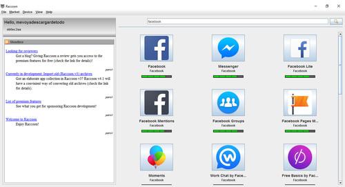 Cómo descargar APK de Google Play con Raccoon APK Downloader