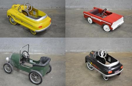 Una nostálgica colección de más de 140 coches clásicos a pedales sale a la venta y nos hace sentir como niños