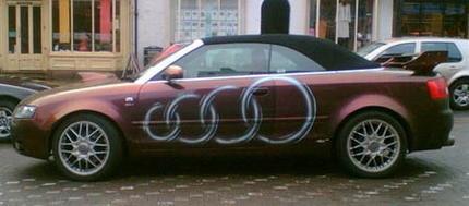 Audi RS4 Cabrio edición Subaru