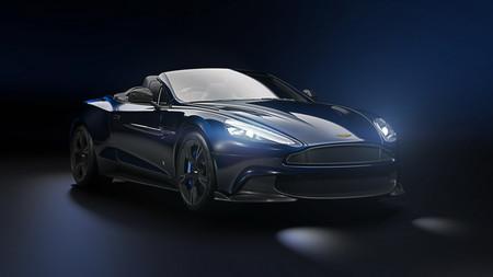 Aston Martin y Tom Brady se unen para crear una edición especial del Vanquish S Volante