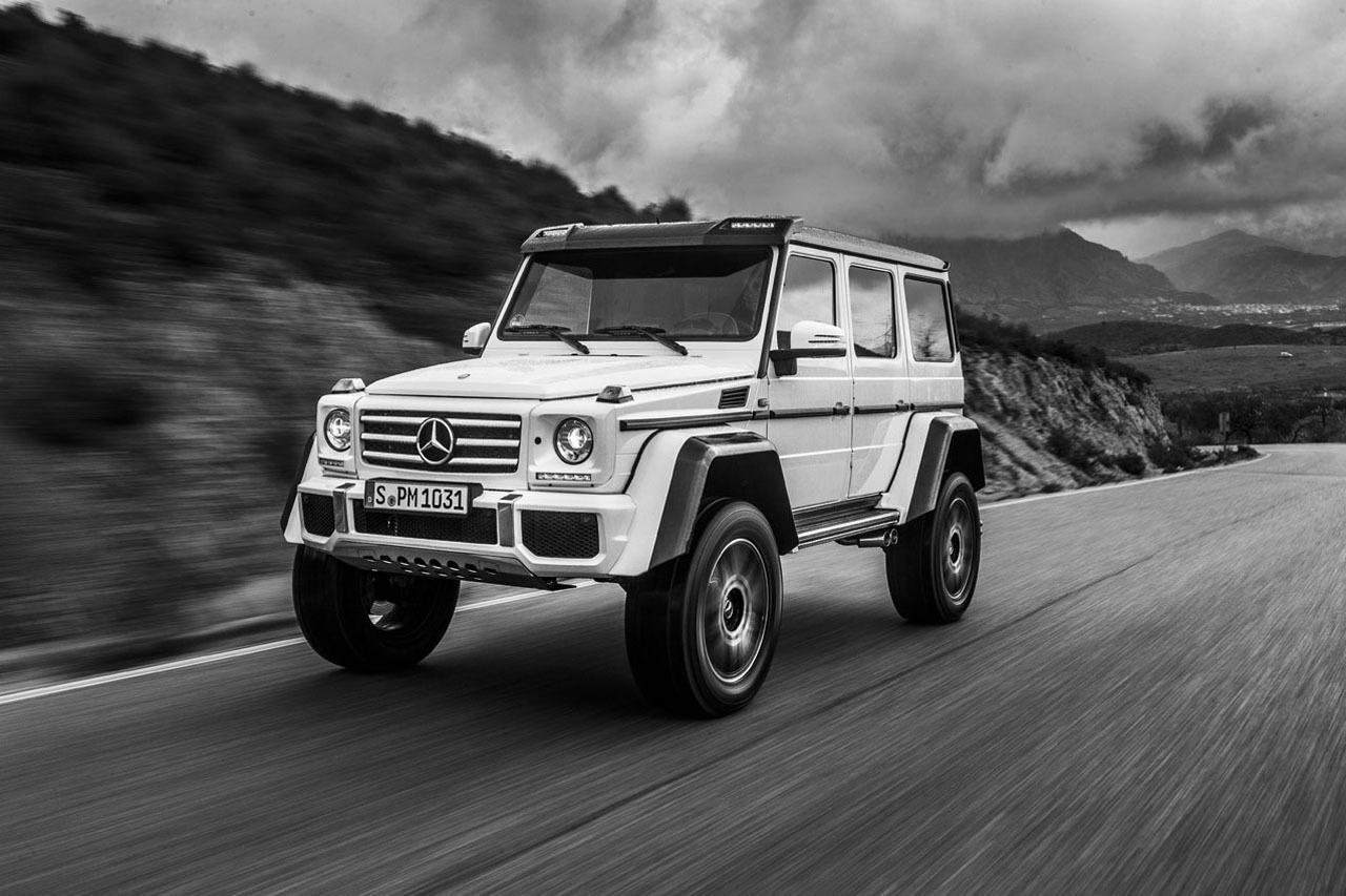 Foto de Mercedes-Benz G 500 4x4², toma de contacto (76/127)