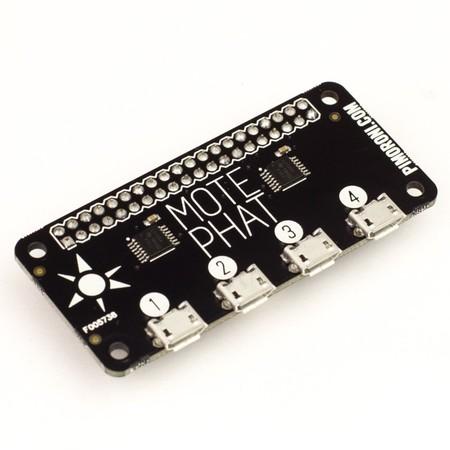 Mote pHAT, para proyectos de luz con la Raspberry Pi Zero viene que ni pintado