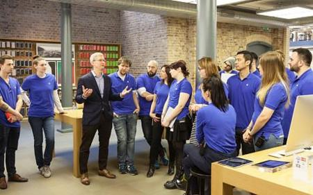 Tim Cook Londres